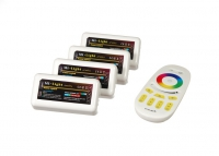 RF RGBW 24A, 4 zones, White (Touch)