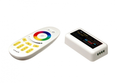 RF RGB 18A, 4 zone, White (Touch)